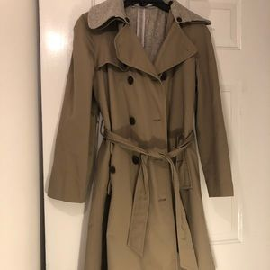 Gap Trench Coat with removable Wool lining